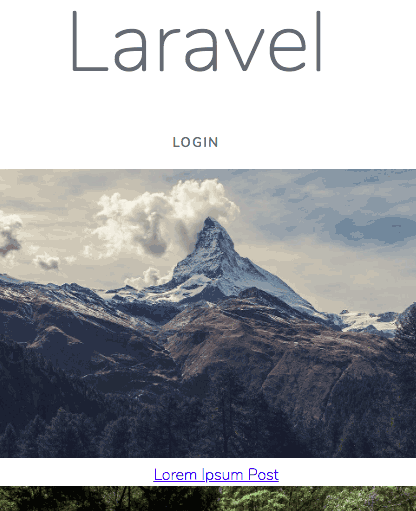 laravel with voyager posts