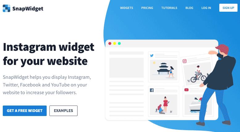 snapwidget.com ホームページ